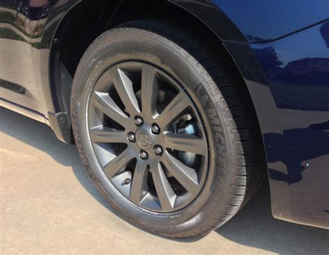 anthracite rim color thoughts
