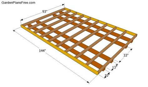 how to frame a floor lean to shed plans free free garden plans how to build