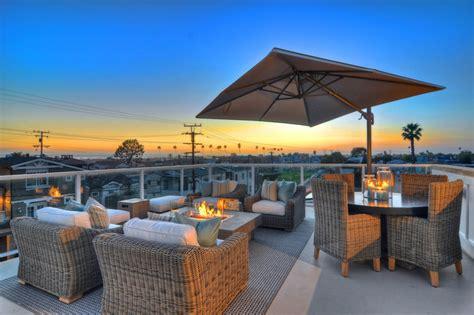 newport rooftop patio traditional patio
