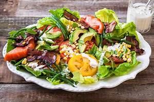 BLT Salad with Buttermilk Dressing Recipe SimplyRecipes com