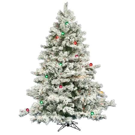 artifical trees black friday best flocked trees 2019 absolute