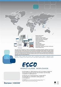 Esco Pharma Ceiling Laminar Airflow Units