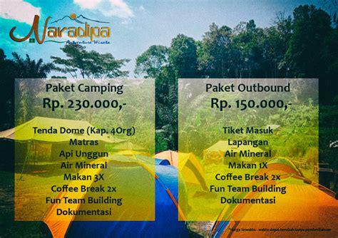 paket camping curug ciangin naradipa artventure wisata