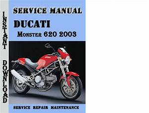 Ducati Monster 620 2003 Service Repair Manual