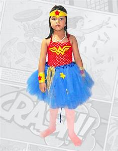 Disfraz Lujo Mujer Maravilla Tutu Party