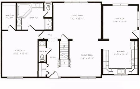 C134312 1 by Hallmark Homes Cape Cod Floorplan