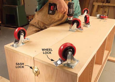 torsion box workbench  expandable assembly table