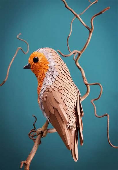 Lisa Lloyd Paper Birds 3d Sculptures Artist