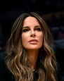 Kate Beckinsale at the Lakers vs Heat game in Los Angeles ...