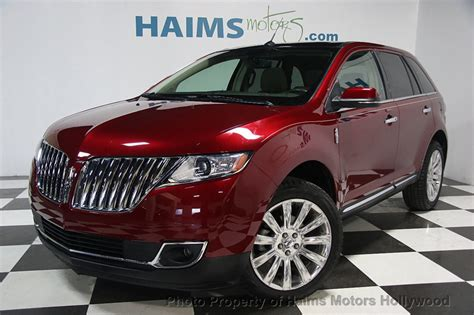 2015 Used Lincoln Mkx Fwd 4dr At Haims Motors Serving Fort