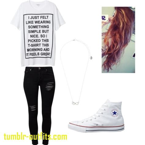 Inspirational Cute Simple Outfits for High School | Tumblr Outfits