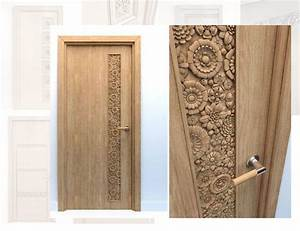 Porte En Bois Intérieur : portes int rieurs sculpt es ~ Dailycaller-alerts.com Idées de Décoration