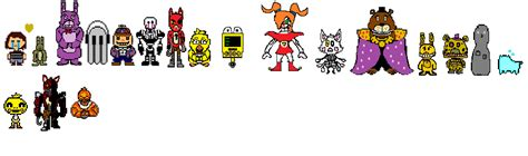 Undertale Annoying Dog Wallpaper Fnaftale Sprites By Greywolfgamer On Deviantart