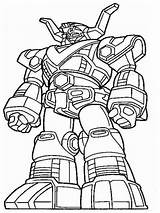 Coloring Robots Printable Boys Mycoloring sketch template