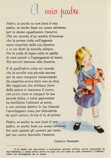 Prima Dammi Un Testo by A Mio Padre Poesia Di Camillo Sbarbaro Filastrocche It
