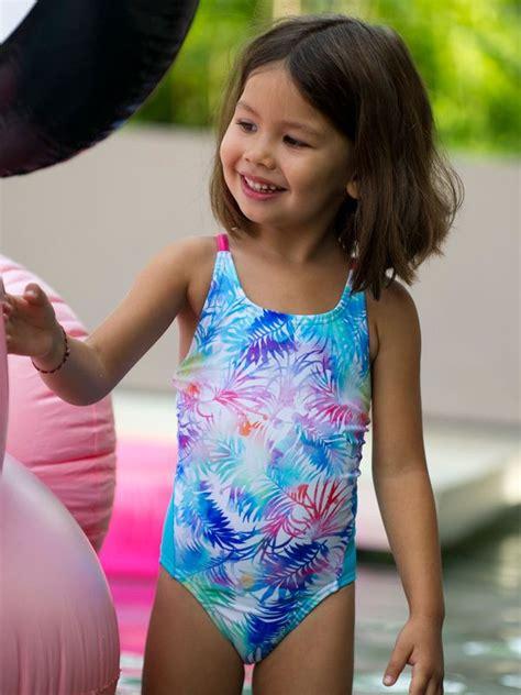 Escargot Paradise Toddler Girls One Piece Swimsuit