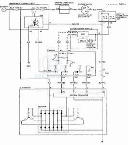 Honda Accord  Circuit Diagram - Charging System