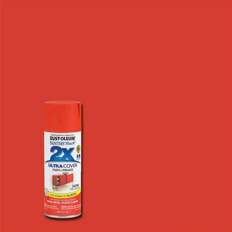 Rustoleum Painter's Touch 2x 12 Oz Satin Fire Orange