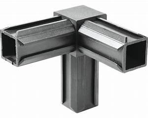 Alu Vierkant Stecksystem : kaiserthal xd buisverbinder 90 met rechthoekig verloop kunststof zwart kopen bij hornbach ~ Sanjose-hotels-ca.com Haus und Dekorationen