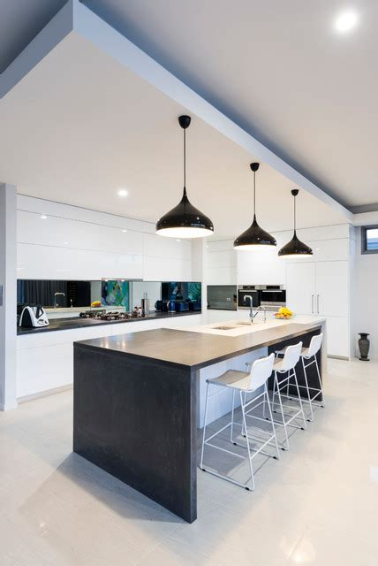 monochrome kitchen design ideas  wow style