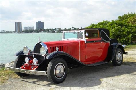 A vehicle that knew no competitors in terms of performance, quality and image. 1929 Bugatti Type 41 Royale Binder Sedanca Replica Stock # 814TV for sale near Miami, FL | FL ...