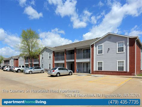 one bedroom apartments in fayetteville ar the quarters on razorback road apartments fayetteville