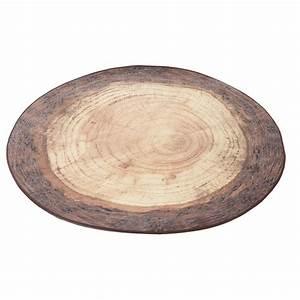 Rond En Bois : tapis moderne et design imprim bois par merowings ~ Teatrodelosmanantiales.com Idées de Décoration