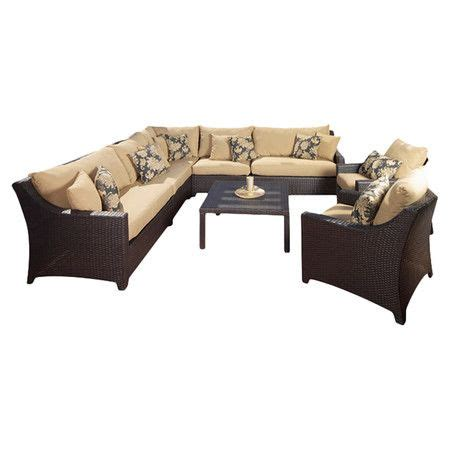 wayfair delano  piece seating group