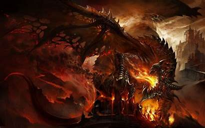 Warcraft Wallpapers Deathwing Wow Blizzard