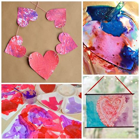 valentines day process art activities