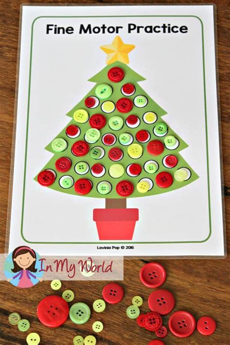 preschool centers in my world 478   Christmas Preschool Centers Christmas Tree Fine Motor