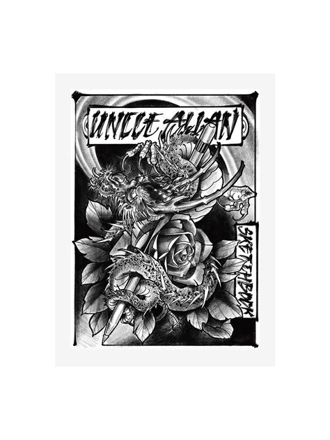 Sketchbook by Uncle Allan | Tattoo Life eBooks