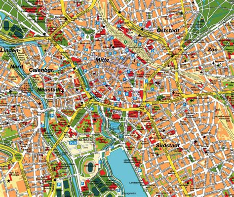 hannover map