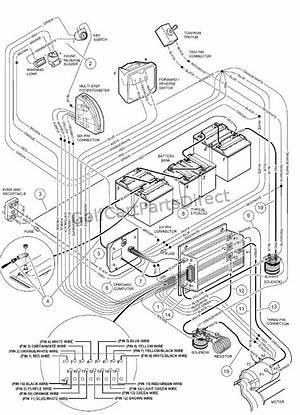 2002 48 Volt Club Car Wiring Diagram 24462 Getacd Es