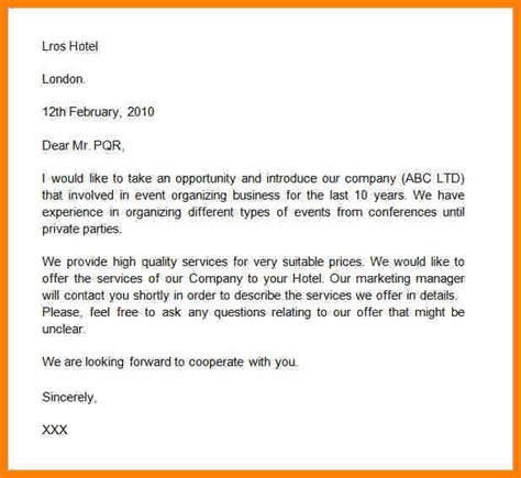 7 introduction letter of company to client company 7 sle of introduction letter to new client 42914