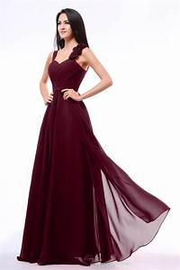 Burgundy bridesmaid dresses a line sweetheart dresscab for Maroon dresses for wedding