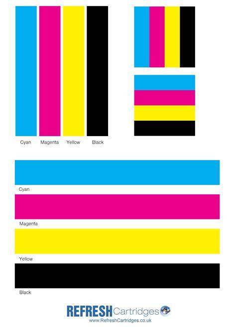 color laser colour laser printer test page