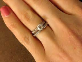 show me engagement rings wedding band help cathedral solitaire e ring show me your wedding sets weddingbee