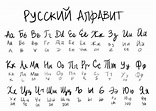 I love seeing different forms of Russian cursive! This ...