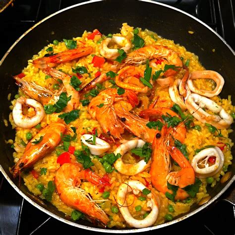 cuisine paella brixton seafood paella brixton