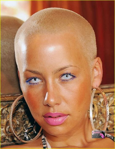 amber rose haircut and hairstyles