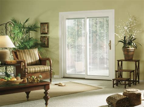 patio doors with blinds sliding glass patio door doors cleveland