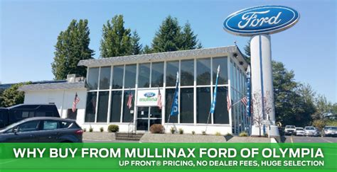 buy  mullinax ford  olympia olympia wa ford sales