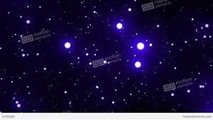 Blue Glowing Spheres Starfield Loop 1 Video Hintergrund ...