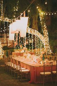 La quinta wedding from fondly forever photography for Outdoor wedding reception lighting