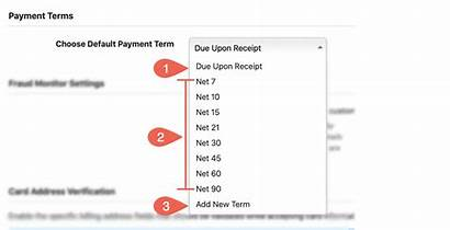 Payment Term Receipt Due Chargebee Docs Shown