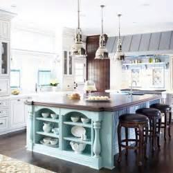 kitchen island colors bhg centsational style