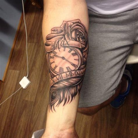 pocket  feather  rose tattoo  sammy tattoos   love pinterest feathers