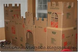 Cardboard Box Forts, Castles, And Mazes For The Kids ...