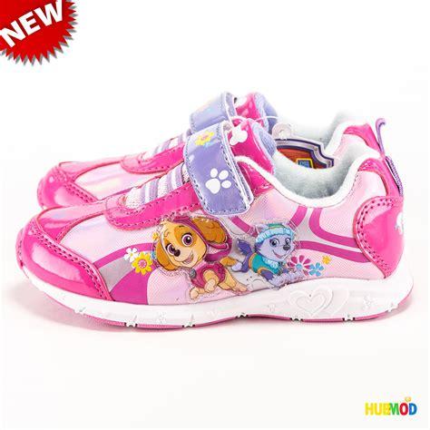 light up shoes size 5 paw patrol girls 39 quot flower run quot light up pink purple